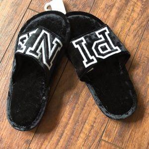 PINK slide slippers